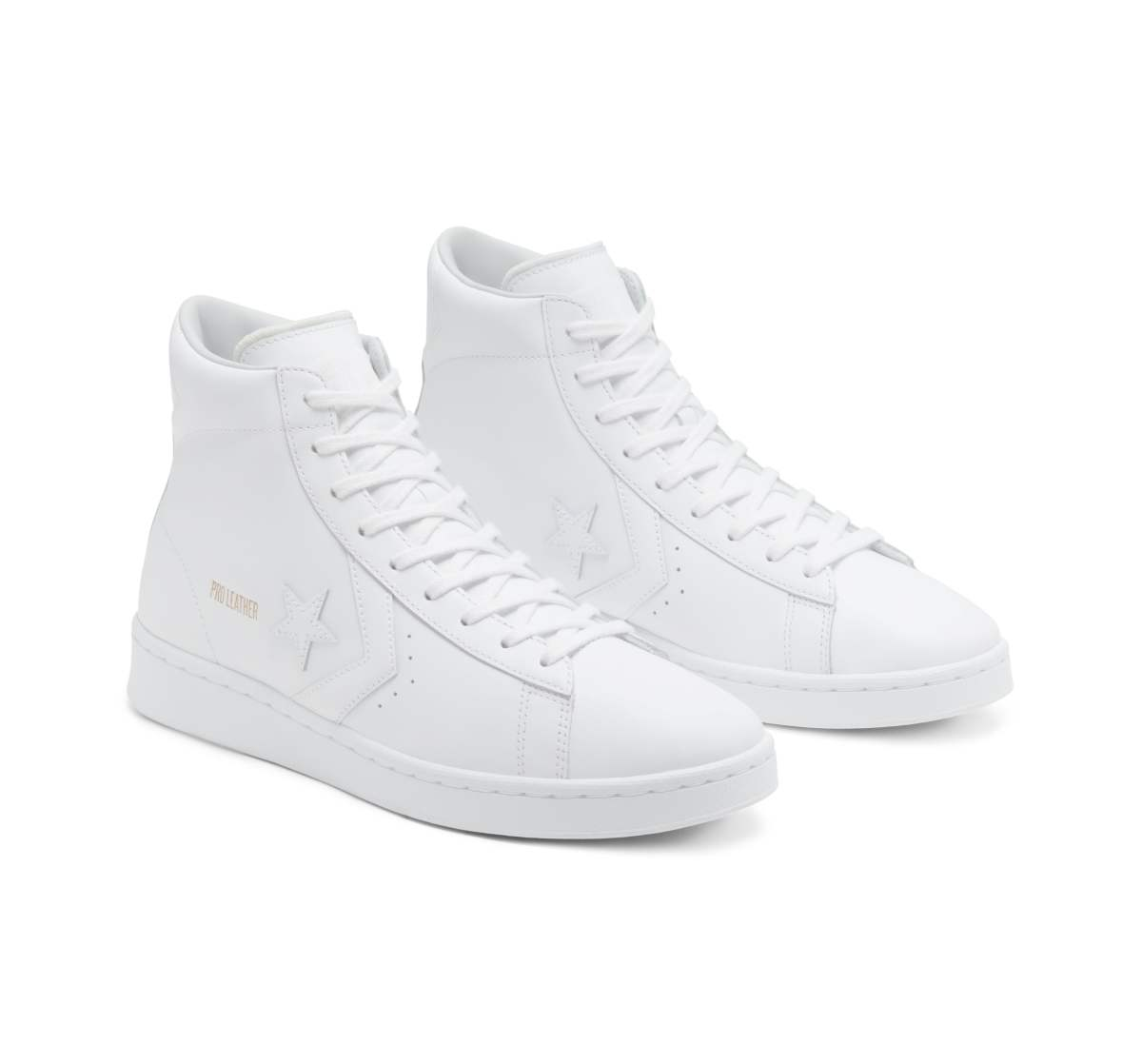 CONVERSE PRO LEATHER MID WHITE
